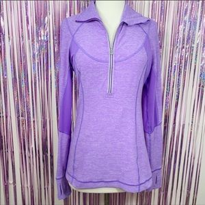 Lululemon Run Dash Pullover Static Power Purple